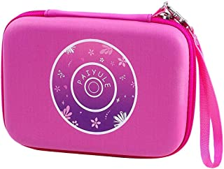 PAIYULE Case Compatible for VTech Kidizoom Duo Selfie/ Twist Connect/ Spin and Smile/ Pix Camera with Strap - Pink (Bag only)