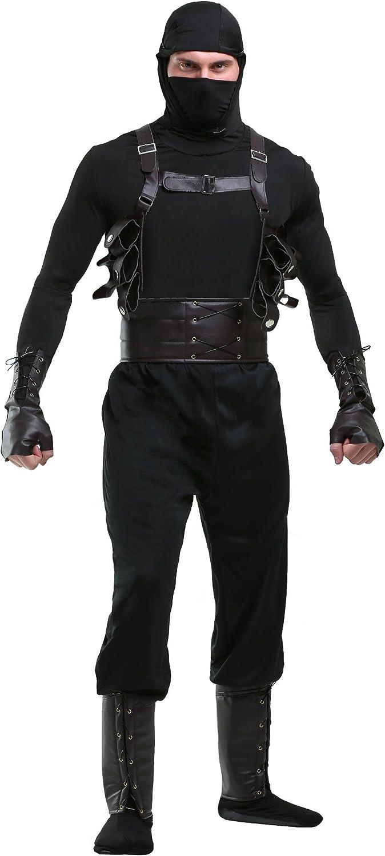 Ninja Assassin Mens Fancy dress costume Large