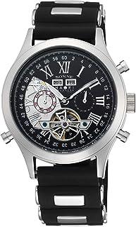 [ゾンネ]SONNE 腕時計 SONNE×HAORI PRODUCED ブラック文字盤 自動巻 H003SS-BK メンズ