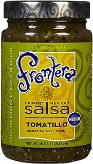 Frontera Foods Medium Tomatillo Salsa, 16 oz