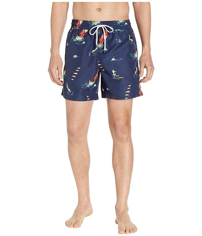 Polo Ralph Lauren Traveler Swim Trunks (Montego Deco) Men