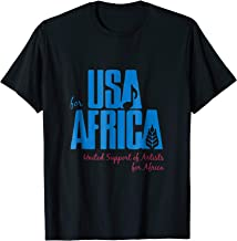 We Are the USA Support Africa T-shirt