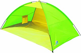 verde//giallo Bestway 702459 Tenda Beach Idrorepellente con Sacca