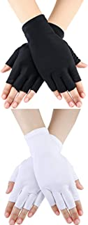 Boao Women Sunscreen Gloves UV Protection Sunblock Gloves for Driving Riding Fishing Golfing Outdoor Activities