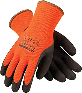 powergrab thermo hi vis winter gloves