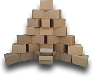 Small Moving Boxes (25 Pack) Size: 16x10x10
