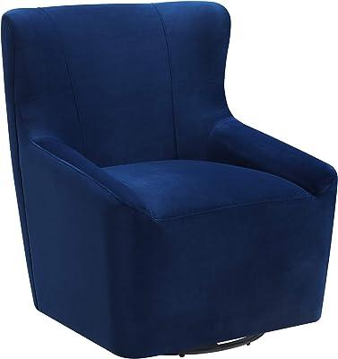 Abbey Avenue A-ENZ-1815E Enzo Swivel Chair in Cobalt