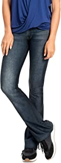 Calça Flare Casual Denim - Blue Dark Jeans - LIVE!