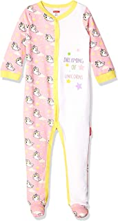 Fisher-Price Unisex-Child Embroidered One-Piece Coverall Footie