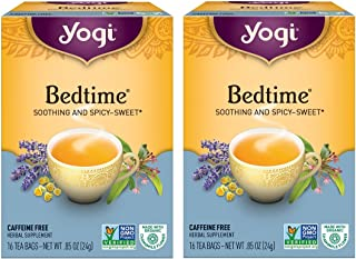 Yogi Bedtime Tea -- 16 Tea Bags (Pack of 2)