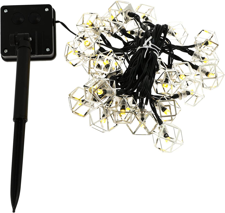 balacoo Max 57% OFF Solar String Lights Fairy Led Outdoor San Diego Mall Star