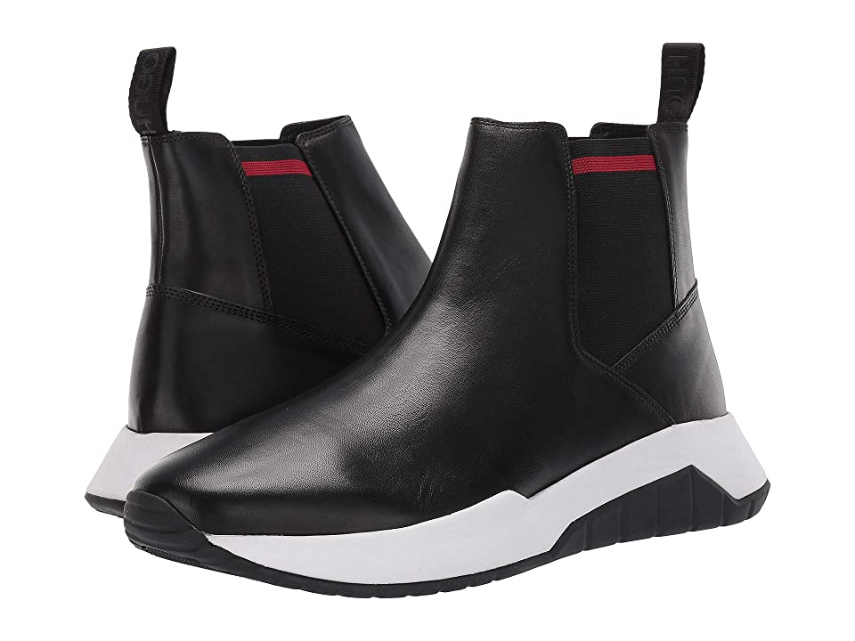 BOSS Hugo Boss Atom Run High Top By HUGO (Black) Men