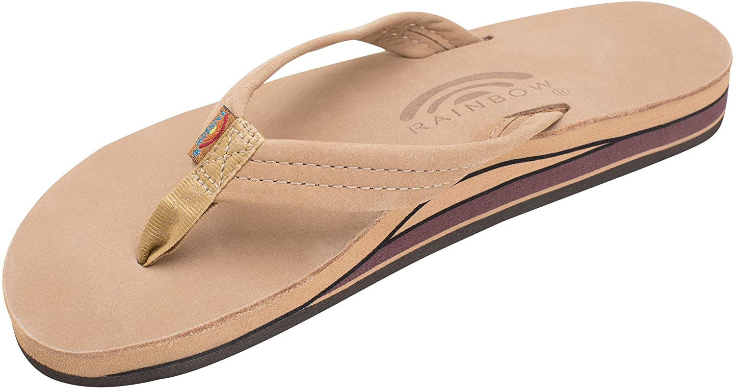 Rainbow Sandals Women's Double Layer Leather w/ 3/4