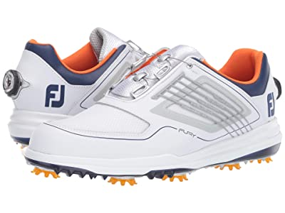 FootJoy Fury BOA (White/Navy/Orange) Men