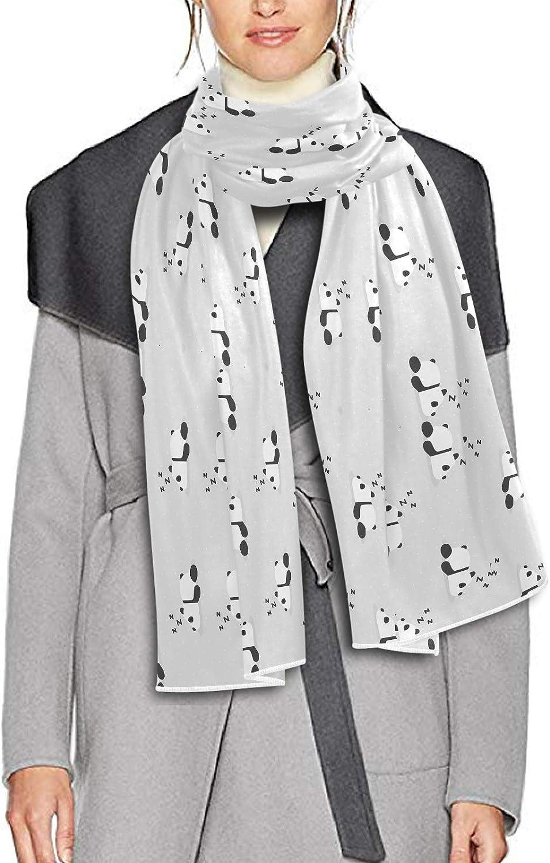Scarf for Women and Men Sleeping Panda Cute Shawls Blanket Scarf wraps Warm soft Winter Long Scarves Lightweight