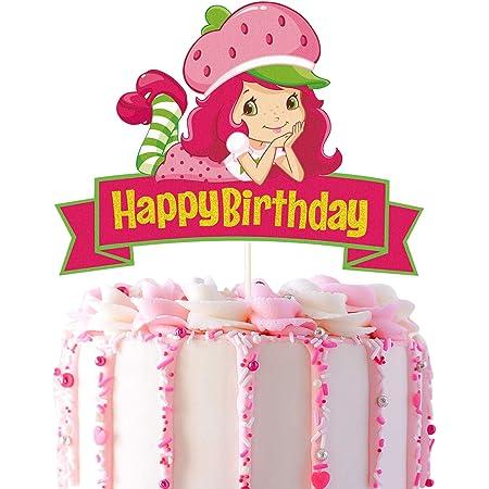 New Strawberry Shortcake Cake Topper Best Friends Custard