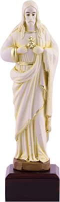 Lord Jesus Idol Statues Showpiece l Jesus showpiece l Jesus Statue Christian Religious 17cm x 5cm l by Affaires Ideal Gift for Christmas & Home/Office Décor G-471