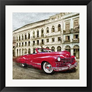 Habanera (Detail) by Ivan Baldo Framed Art Print Wall Picture, Black Frame, 22 x 22 inches