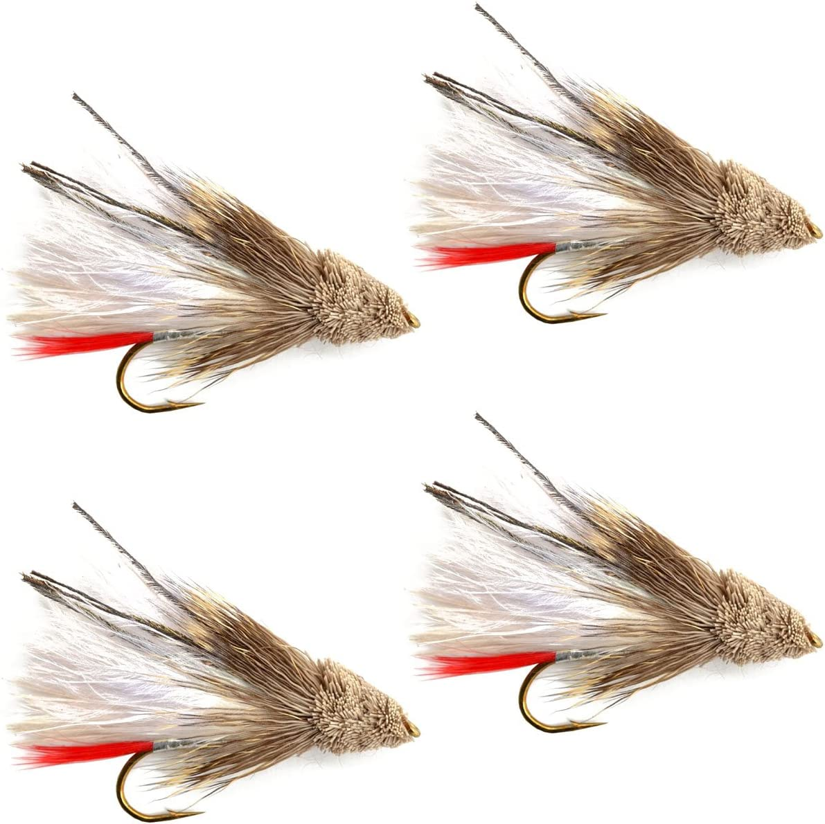 The Fly Cheap super special price Fishing Place Streamers - Max 43% OFF S Marabou Muddler White Minnow