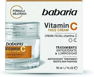 BABARIA Crema facial mujer con Vitamina C 50 ml