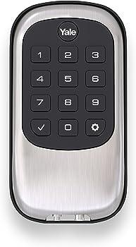 Yale Security YRD110ZW619 Push Button Deadbolt