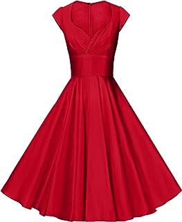d999127e2f GownTown Womens Dresses Party Dresses 1950s Vintage Dresses Swing Stretchy  Dresses