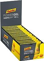 PowerBar PowerGel Shots Orange 16 x 60 g – Hög kolhydratenergi gummi + C2MAX magnesium och natrium
