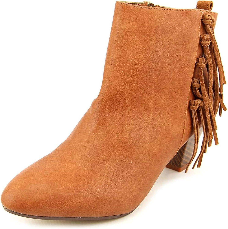 Thalia Sodi Lorys Women US 7.5 Brown Bootie