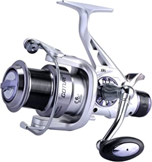 Goture Carp Reel Dual Drag 6+1BB Shark-Carp Spinning Fishing Reel Left Right Changeable Fishing Tackle