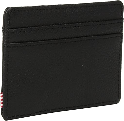 Black Pebbled Leather 1