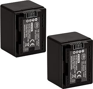 BM Premium Fully Decoded Pack of 2 BP-727 Batteries for Canon Vixia HFM50, HFM52, HFM500, HFR30, HFR32, HFR300, HFR40, HFR42, HFR400, HFR50, HFR52, HFR500, HFR60, HFR62, HFR600, HF R70, HF R72, HF R700 Camcorder