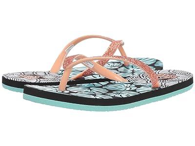 Reef Kids Stargazer Prints (Little Kid/Big Kid) (Geo Palms) Girls Shoes