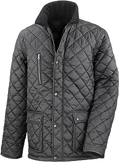 Result Mens Cheltenham Gold Fleece Lined Jacket (Water Repellent & Windproof)