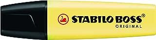 Marcador De Texto Boss Pastel Amarelo Stabilo Stabilo