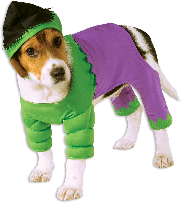 Rubies Costume Co Marvel Classic Universe The Hulk Pet Costume, Medium