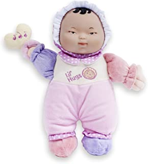 JC Toys Lil' Hugs Asian Pink Soft Body - Your First Baby Doll – Designed by Berenguer – Ages 0+