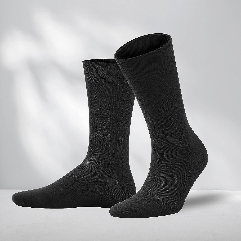 NORDSOX Bamboo Crew Socks For Women/Men - Super Soft Comfortable Thin Breathable Odorless Daily Mens Dress Socks , 4 Pairs