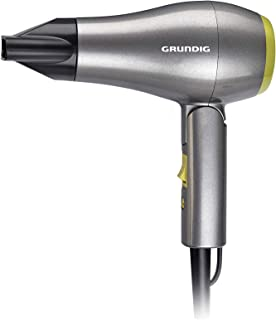 Grundig HD1800 - Secador de pelo, color gris