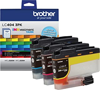 Brother LC4043PKS 3 Pack of Standard Yield Cyan, Magenta and Yellow Ink Cartridges