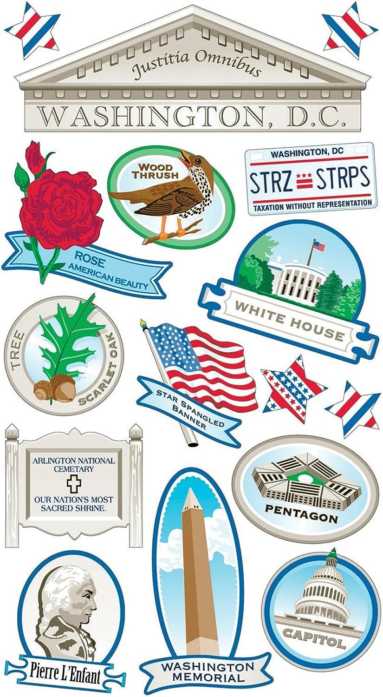 Sticko 58 58 58 Stickers-Washington DC B004YSCYK8   Einzigartig  a982bf