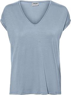 Vero Moda Women's VMAVA SS V-NECK VMA T-Shirt