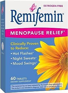 Remifemin Estrogen-Free Menopause Relief, 60 Count
