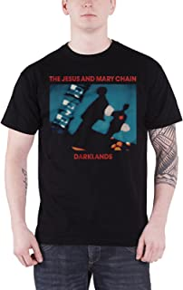 The Jesus And Mary Chain T Shirt Darklands Band Logo 新しい 公式 メンズ