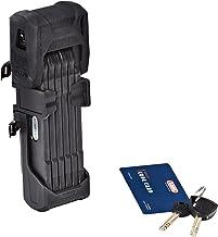 ABUS 780684 Bordo Granit XPlus 6500/85 SH Zwart-85cm Lengte/5,5 mm Stalen Platen Fietsslot, Zwart, 6500