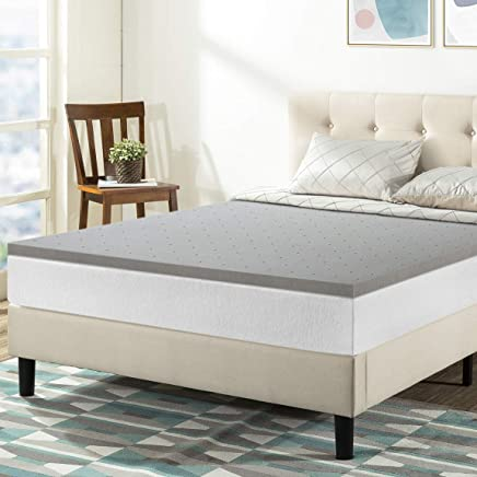 featured product Best Price Mattress Queen Mattress Topper - 1.5 Inch Bamboo Charcoal Infused Memory Foam Bed Topper Cooling Mattress Pad,  Queen Size