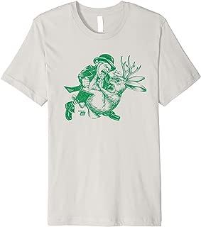 Leprechaun vs Jackelope T-Shirt