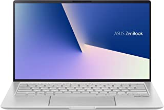 Asus Zenbook 14 UX433FLC-A5366T Ultrabook (Silver)  - Intel i7-1051U 1.8 GHz, 16 GB RAM, 1000 GB SSD, NVidia GeForce MX250, 14 inches, Windows 10 Home, Eng-Arb-KB