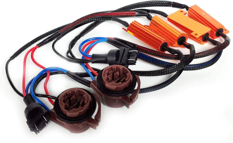 O-NEX LED Ranking TOP4 Resistor Kit 3157 4157 Harness Brand Cheap Sale Venue Relay Turn Bulb Signal