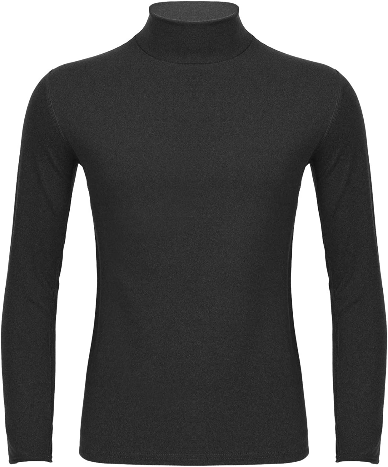 CHICTRY Men's Lightweight Thermal Underwear Tops Base Layer Shirts Turtleneck Long Sleeve Pullover Tops