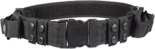 UTG Heavy Duty Elite Law Enforcement Pistol Belt with Dual Mag Pouches